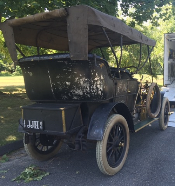 1906 Pierce Great Arrow. Single remaining example of this Model 40/45 1906 Great Arrow. All original, 1st in Prewar Preservation Class at 2015 Pebble Beach Concours d'Elegance. The original owner was James J Hill, builder of The Great Northern Railroad. — Laidlaw Antique Auto Restorations