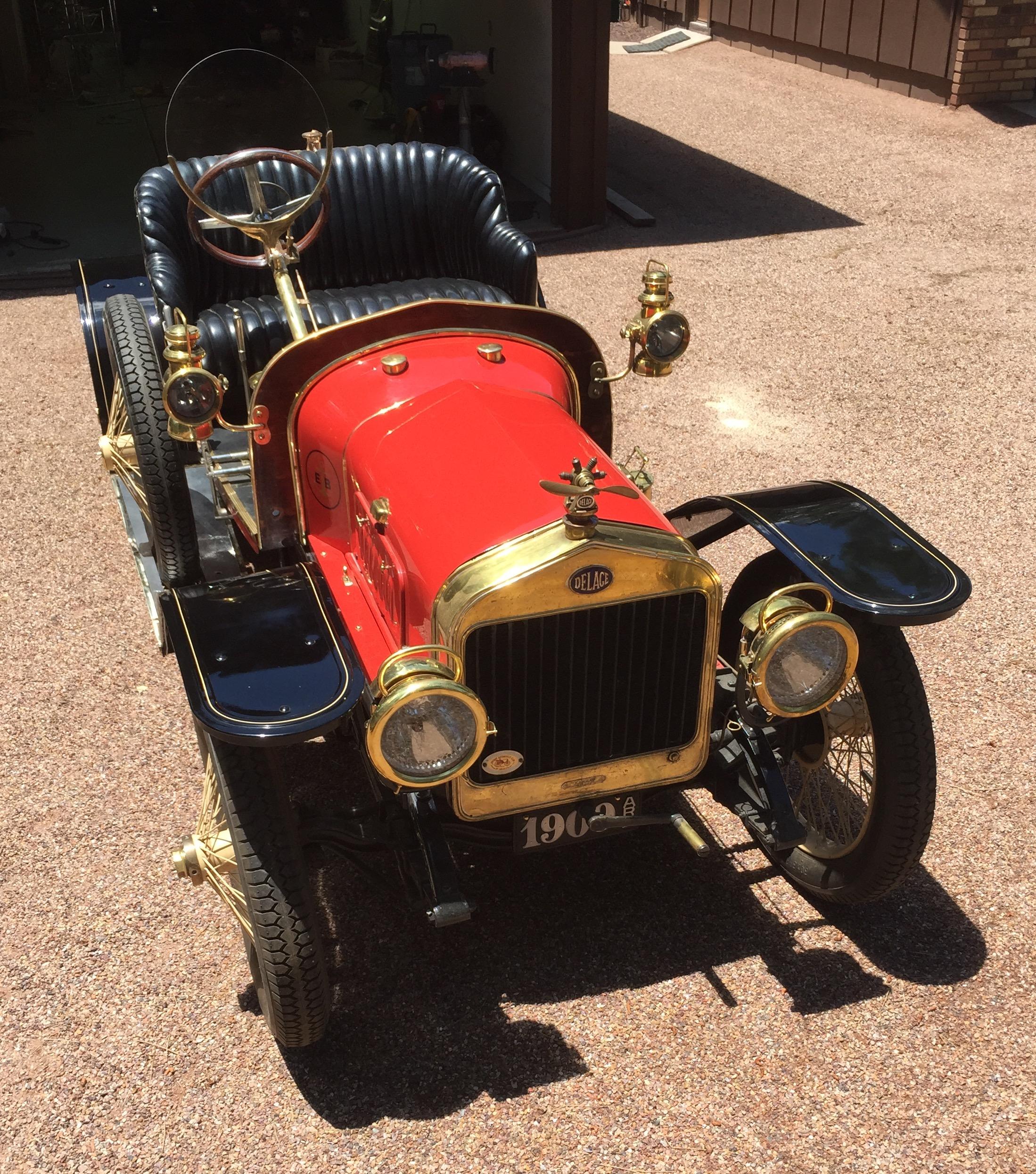 1909 Delage Voiturette les competition