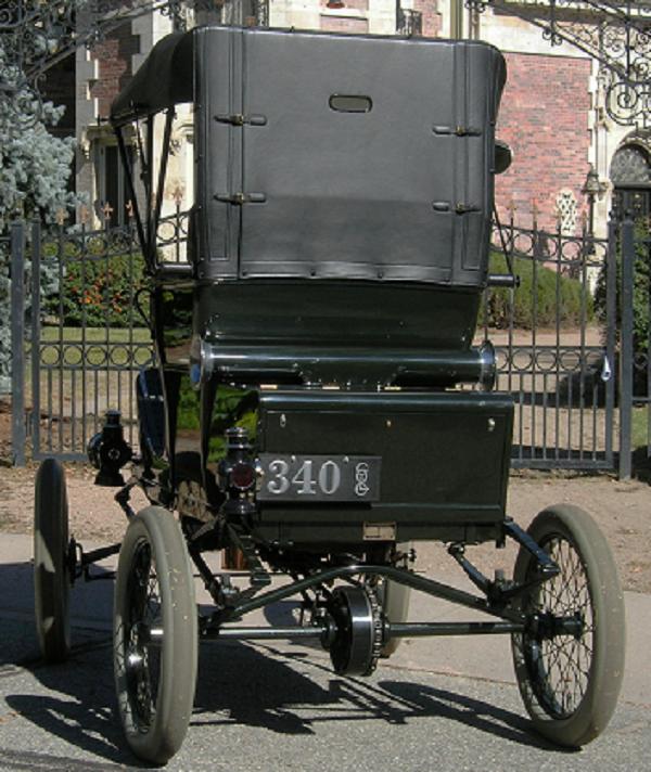 1902 White Model B Steamer.