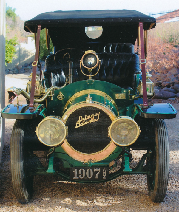 """I love it! Thanks for doing such a great job, it really sets off the rest of the car. We really appreciate your workmanship!"" 1907 Delaunay Belleville. -- Alan Travis"