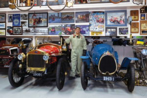 "Highline Autos Magazine's ""Great Garages"" visit's Alan and Mary Travis' collection."