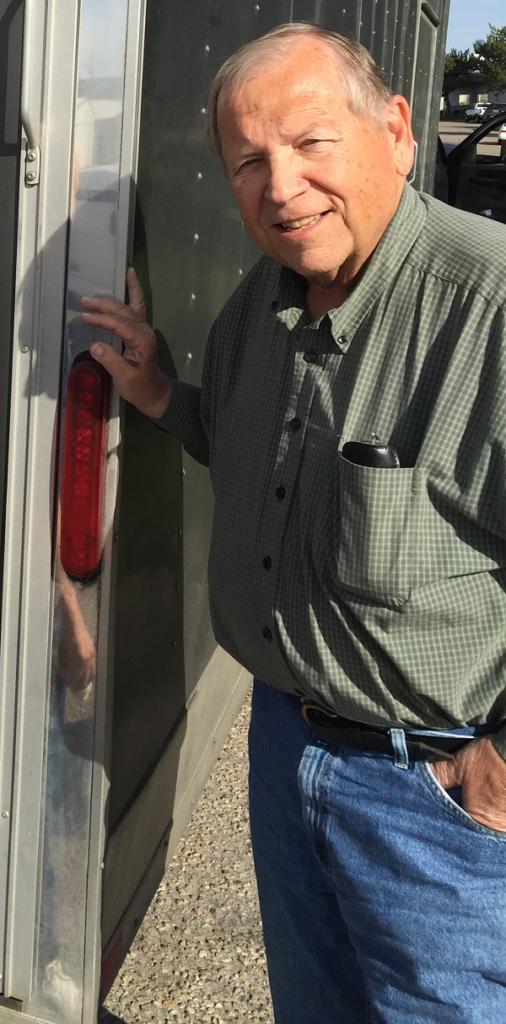 Steve Hammatt, on the road while returning from Hershey 2016.